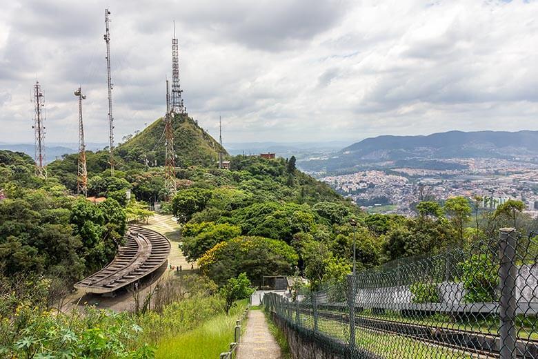 vista do Pico do Jaraguá