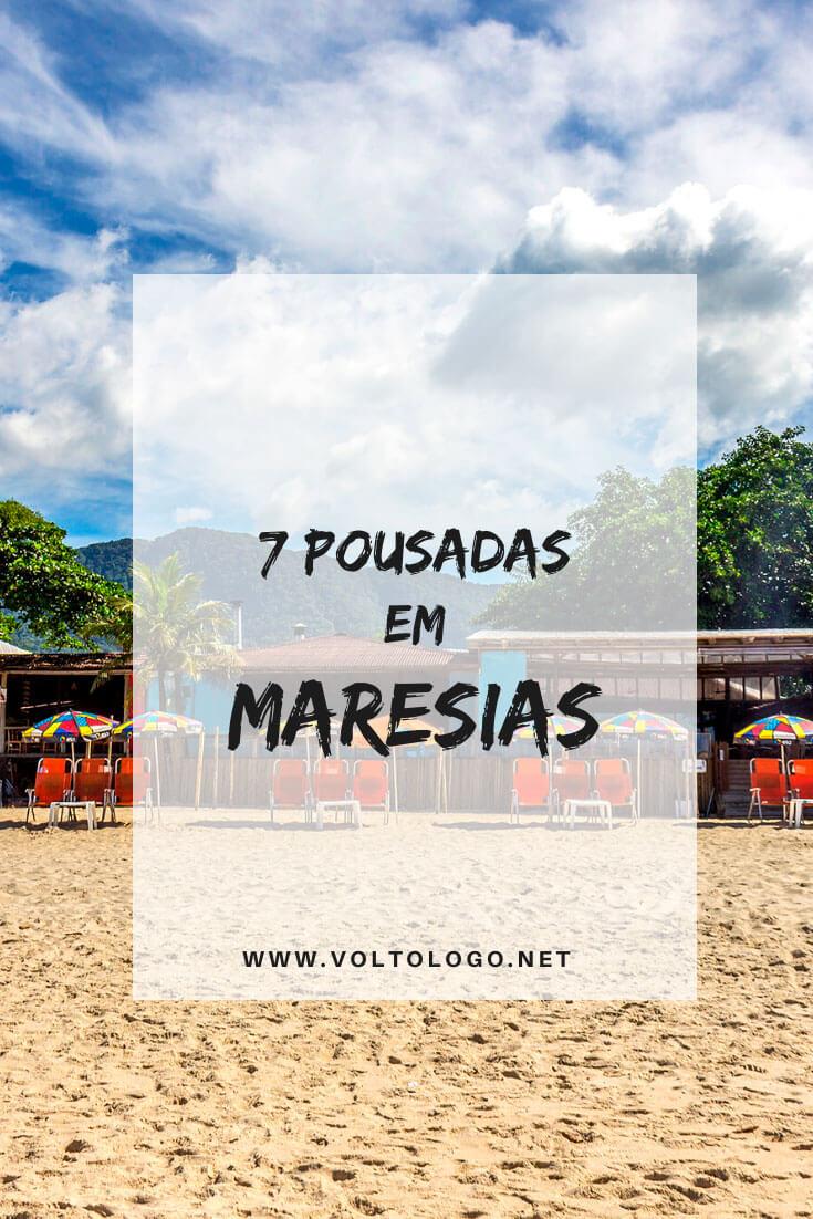 Lista de pousadas em Maresias: Descubra quais são as melhores hospedagens para a sua viagem pelo litoral norte de São Paulo. [Acomodações de diversas categorias e preços para você reservar!]