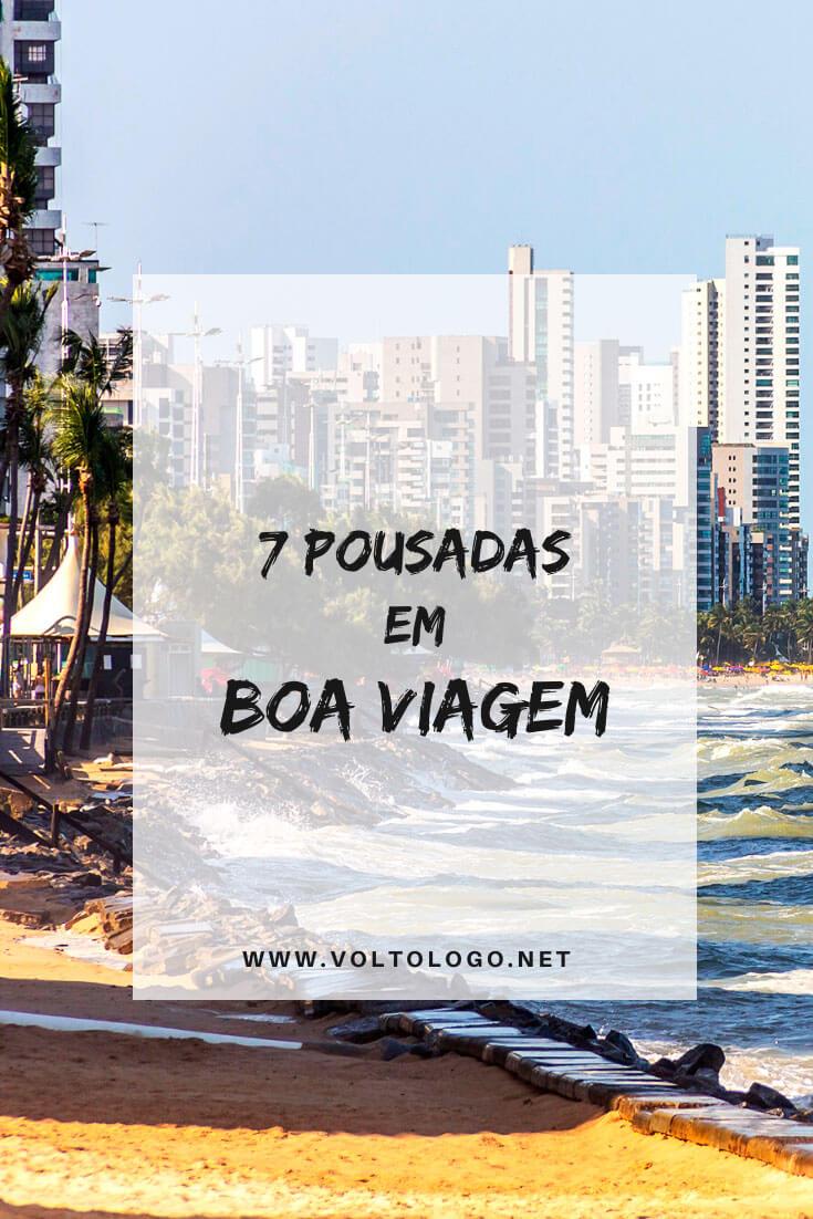 Melhores pousadas na Praia de Boa Viagem, em Recife: Descubra quais são os melhores hostels, hotéis e pousadas para a sua estada na capital de Pernambuco. [Hospedagens de todos os preços para você reservar!]