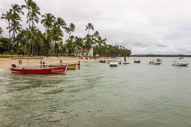 praias em Porto de Galinhas e Maragogi