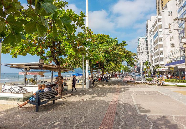 melhores bairros para se hospedar em Balneário Camboriú