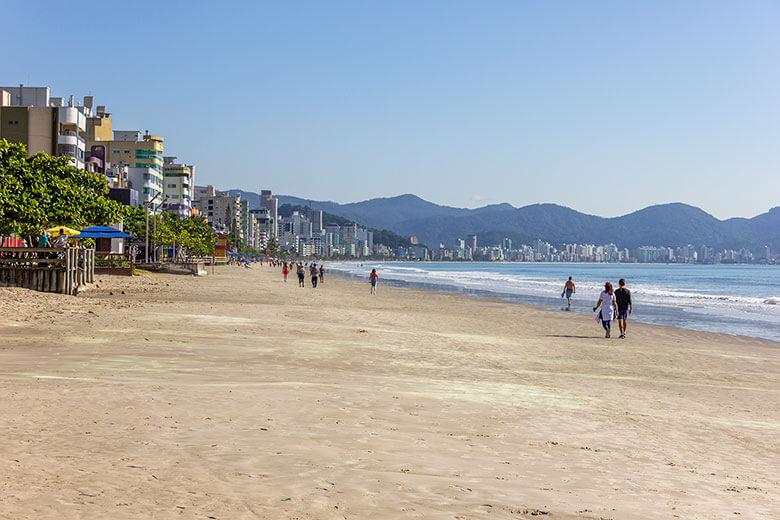 melhores praias para se hospedar em Itapema