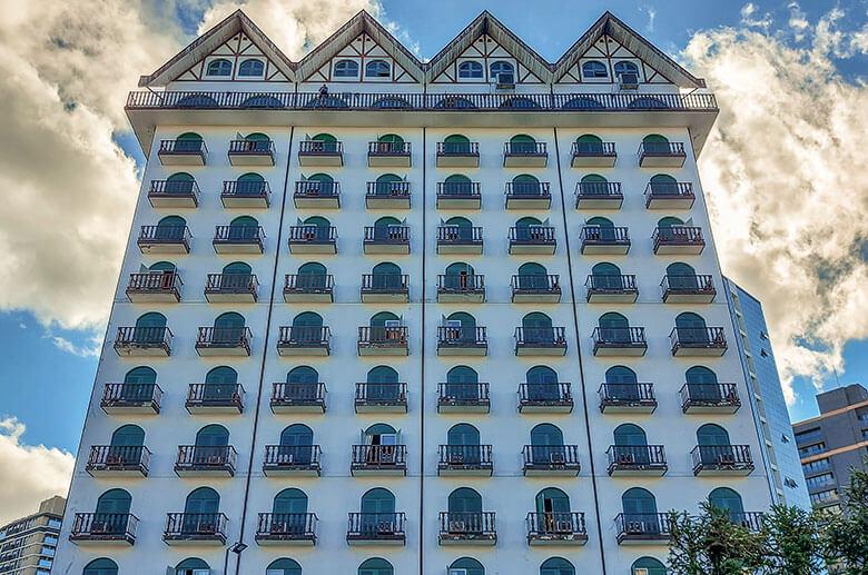 preços de hotéis em Joinville