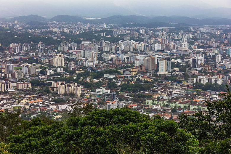 Morro da Boa Vista em Joinville