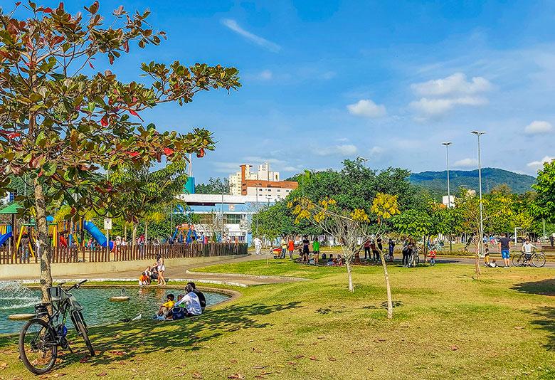 parques em Blumenau
