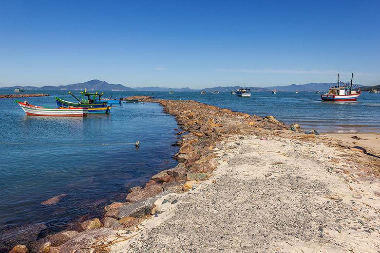 Praia de Zimbros - Bombinhas